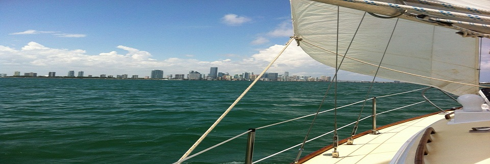 Sailing in Miami https://miamiboatrent.com