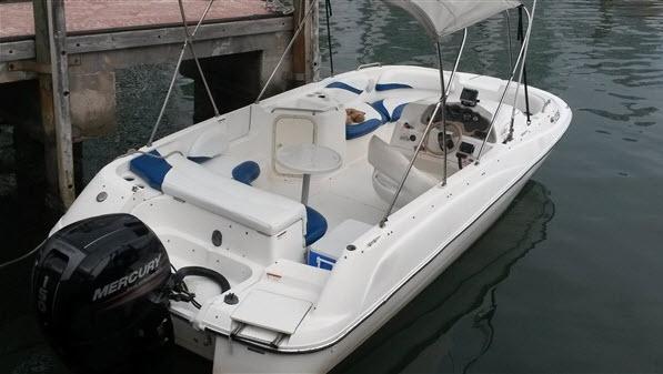 SUN-DECK 21FT Party boat MIAMI