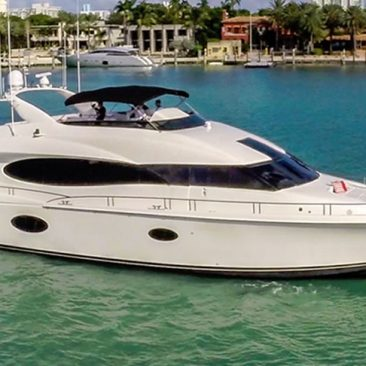 LAZZARA 84 FT Miami Yacht Rentals