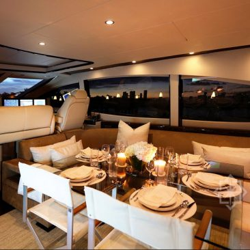 Miami Yacht Charters Lazzara 75ft