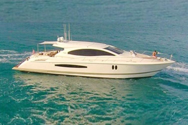 Miami Yacht Charters Lazzara 75ft