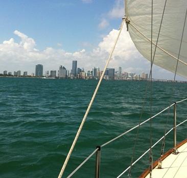 Pearson 33 Miami Charters 1