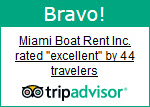 Miami Boat Rent Trip Advisor Ratings