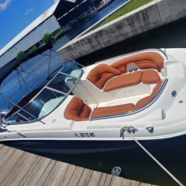 Hurricane boat rental without captain in Miami